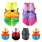 Small Pet Dog Cat Winter Padded Vest Coat Warm Clothes Waterproof Jacket Apparel