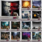 Halloween Tapestry Art Wall Hanging Bedspread Hippie Throw Cover Home Decoration