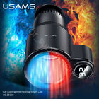 USAMS LED Display One Button Switch Car Quick Cooling And Heating Smart Cup