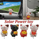 Home Car Decor Solar Dancing Animal Lucky Cat Swing Toy Gifts Accessories