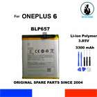 BATTERIA ORIGINALE BLP657 1+ ONEPLUS 6 3300mAh A6000 A6003 OEM GENUINE BATTERY