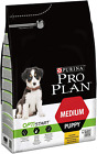 Pro Plan Puppy Medium Dry Dog Food Chicken 3Kg