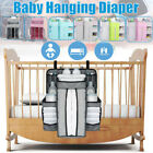 7 Colors Baby Hanging Diaper Caddy Organizer Diaper Stacker for Changing A