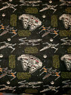 STAR WARS STORMTROOPER SHIPS 100% Cotton Fabric 1 YARD