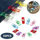 Pack Of 50 Wonder Clips For Fabric Craft Quilting Knitting Sewing Crochet Tool