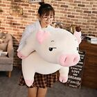 Squishy Pig Stuffed Doll Lying Plush Piggy Toy Soft Animals Plushie Hand Warmer