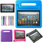 "Handle Kids Stand Cover Case + Screen Protector For Amazon Fire HD 8"" Tablet"