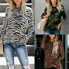 O Neck Long Sleeve Sweaters Women Printed Style Fashion Clothing Loose Pullovers
