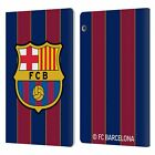 FC BARCELONA 2020/21 CREST KIT LEATHER BOOK WALLET CASE FOR HUAWEI XIAOMI TABLET