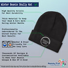 Beanies for Men Chipmunk B Embroidery Winter Hats Women Acrylic Skull Cap 1 Size