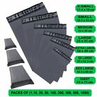 GREY MAILING BAGS STRONG POLY POSTAL POST POSTAGE SELF SEAL PACKAGING BAGS CHEAP