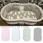 Soft Baby Bassinet Set Cradle Fitted Sheets for Mattress Pads Sleeper Cover NEW