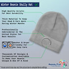 Beanies for Men Chipmunk Lifeline B Embroidery Winter Hats Women Skull Cap