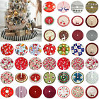 Christmas Tree Skirt Base Floor Mat Cover Xmas Party Home Decoration New Year