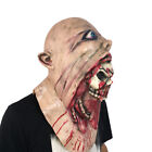 Melting Face Latex Adult Bloody Zombie Mask Halloween Scary Cosplay Prop Eesign