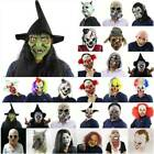 Halloween Party Horror Scary Mask Zombie Clown Mask Fancy Dress Cosplay Props