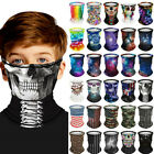 Kid Balaclava Face Cover Cycling Neck Tube Scarf Snood Biker Mask Bandana Scarf