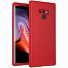 360° Full Body Slim Hard Case + Screen Protector For Samsung Galaxy Note 9 8 5 4