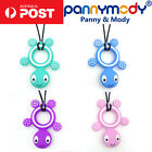 Children Jewellery Turtle Sensory Chew Necklace Autism ADHD Nail Biting Fidgets