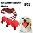 Dog Ball on a Rope For Pet Puppy Toys Tug Balls Pet Toy Training Toy Chew Q1Q2