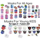 Reusable Masks for Young Kids, Teens and Adults [116 Character Masks]