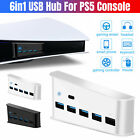 5-Port USB Hub Adapter High Speed Splitter Expension for PS4 Pro PS5 Console New