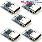 5pcs Usb-c Pd Type-c Dc Fixed Voltage Power Trigger Module 9v 12v 15v 20v Female