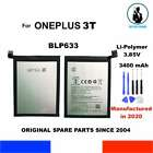 BATERIA GENUINA BLP633 1+ ONEPLUS 3T 3400mAh 13,09Wh OEM NEW GENUINE BATTERY