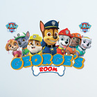 Personalised 3D Paw Patrol Wall Sticker Art Decal Decor Kids Bedroom Decoration