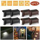Lot4 Solar LED Deck Lights Outdoor Path Garden Pathway Stairs Step Fence Lamp