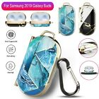 For Samsung Galaxy Buds 2019 Earbuds Charging Case Protective Cover w/Carabiner