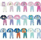 Baby Boys Girls Officially Licensed Character Pyjamas Pajamas Disney 6-24 Months