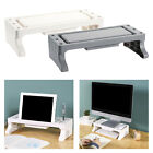 Laptop Monitor Stand Tabletop Printer Computer Riser Organizer With Drawer