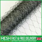 Chicken Wire Netting Mesh Rabbit Aviary Fence Pet 5m & 10m Roll Top Quality