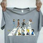 Peanuts In Abbey Road The Beatles Mashup Snoopy Charlie Brown t Shirt Size s 3xl