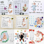 Milestone Newborn Baby Blanket Costume Photo Photography Prop Outfit Cloth UK