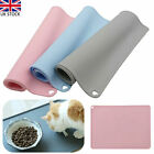 Silicone Pet Feeding Mat Non Slip Pet Food Placemat for Dog Cat Bowls 41x31cm UK