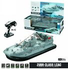 HG C201 1/110 2.4G ZUBR-classic Hovercraft Military Model RC Boat Warship RTR