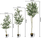 "Artificial Plant Olive Tree Fake Tree Home Office Shop Decoration 55"" 63"" 72"""