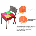 Toddler Kids Seat Mat Highchair Booster Soft Baby Chair Cushion Oxford Cloth