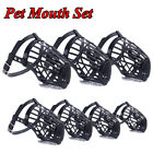 Rubber Dog Muzzle Classic Stylish Environmental Protection Breathable Dog Cover