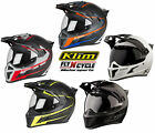Klim ECE/DOT Adult Krios Karbon Adventure Motorcycle Helmet 2017
