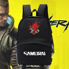 Game Cyberpunk 2077 School Bag Backpack Package Nylon Cosplay Accessories Gifts