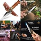 Exterior Multipurpose Knife with Forged Sheath Forcamping/Fishing/Hiking in Gift