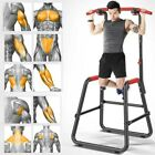 Dip Station Chin Up Bar Power Tower Pull Push Home Gym Fitness Core Exercise