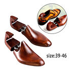 1 PAIR MENS WOMENS SHOE STRETCHERS TREE WOODEN SHAPER ADJUSTABLE SIZE 41-46