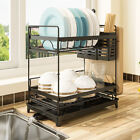 Stainless Steel Kitchen Shelf Dish Drying Rack Storage Rack Tableware Stand
