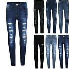 Girls Toddler Baby Skinny Jeans Kids Stretch Slim Jeggings Leggings Trouser Pant