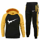 US Hoodie Joggers Mens Tracksuit Set M-2XL Jogging Sweatpants Bottoms Track Suit