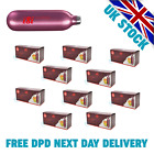 CREAM CHARGERS ISI 8.4g N2O Nitrous Oxide, Nos - FREE DPD NEXT DAY DELIVERY <br/> PREMIUM GENUINE AUSTRIA MADE PINK CREAM CHARGERS